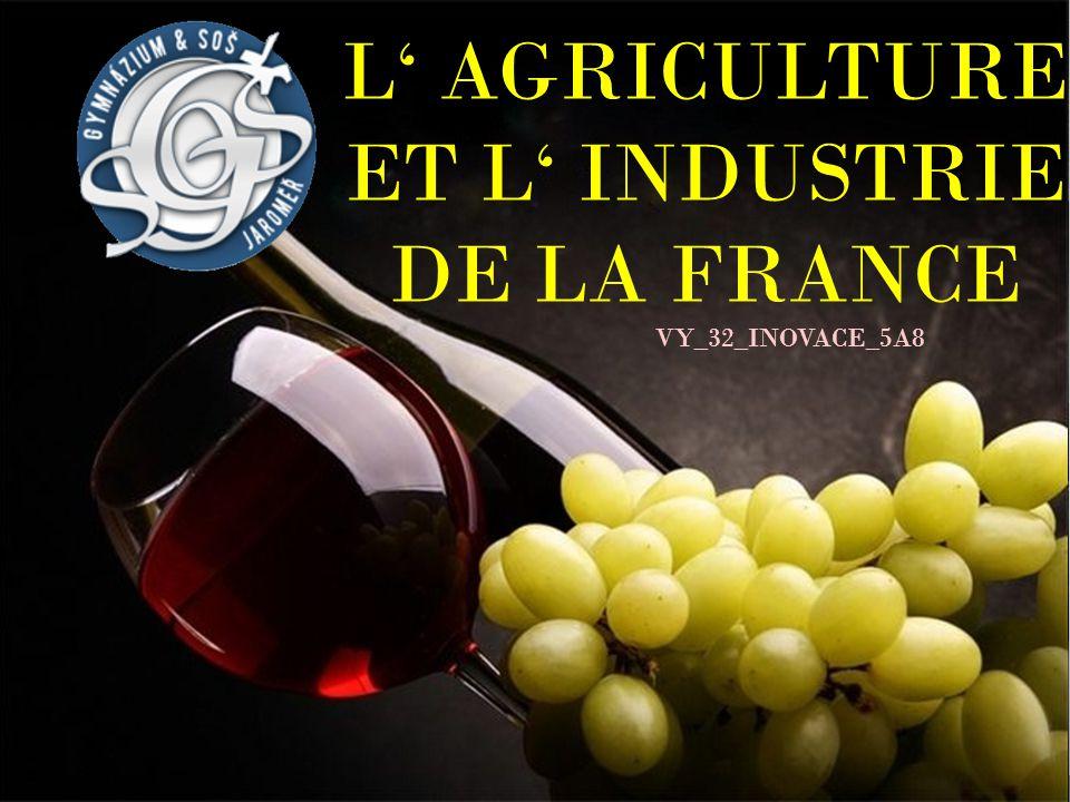 L' AGRICULTURE ET L' INDUSTRIE DE LA FRANCE VY_32_INOVACE_5A8
