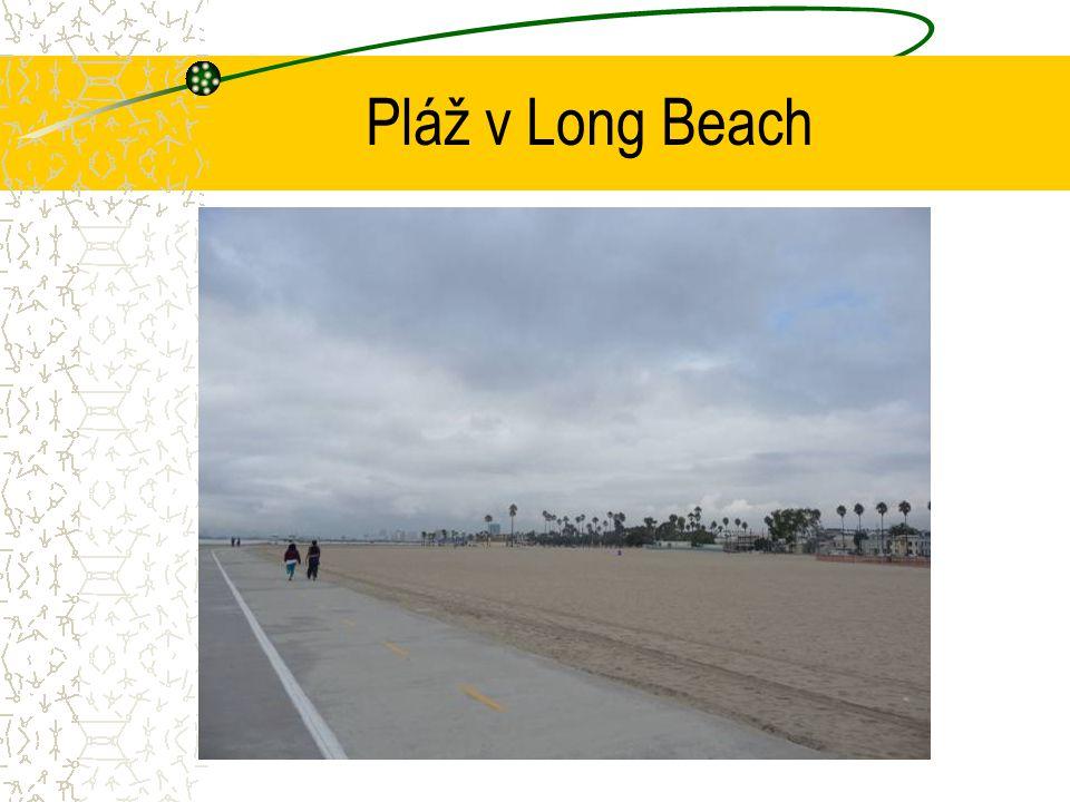 Pláž v Long Beach