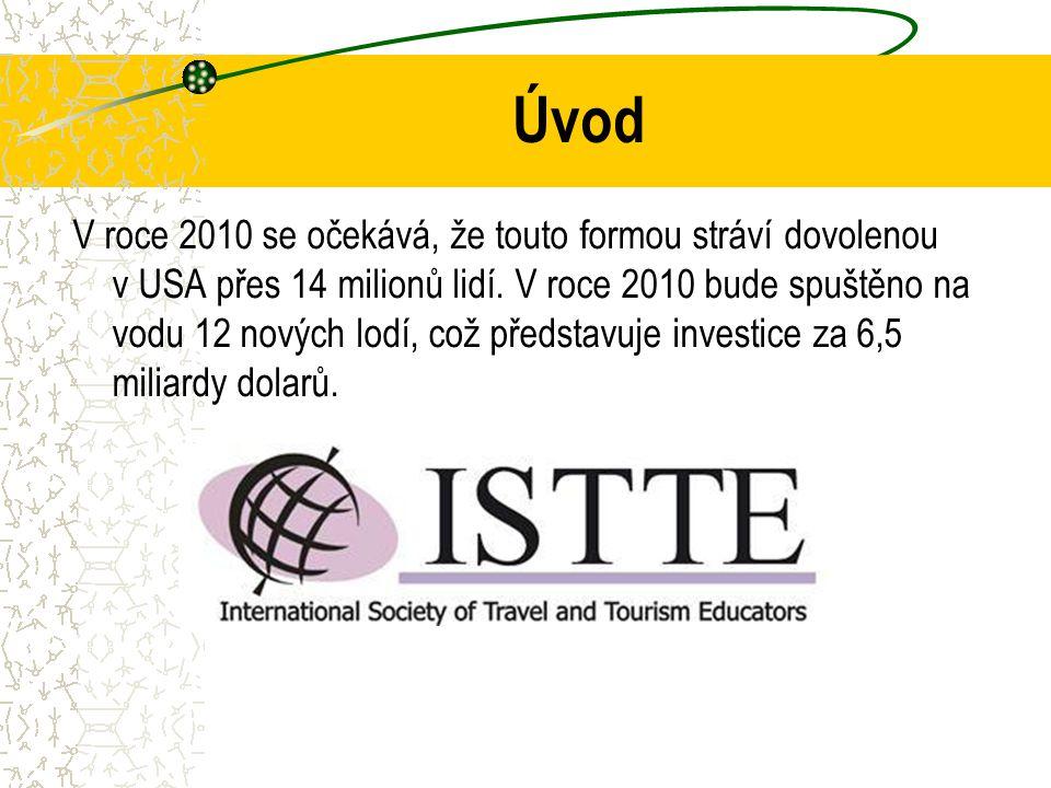 Úvod V roce 2010 se očekává, že touto formou stráví dovolenou v USA přes 14 milionů lidí.