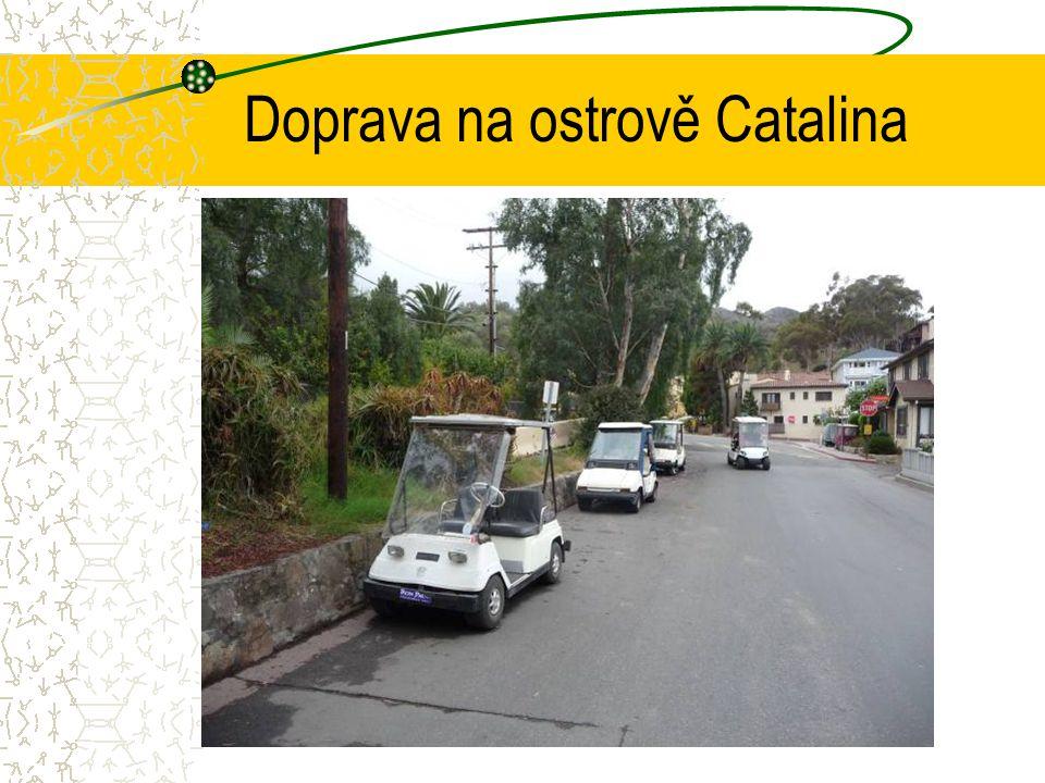 Doprava na ostrově Catalina