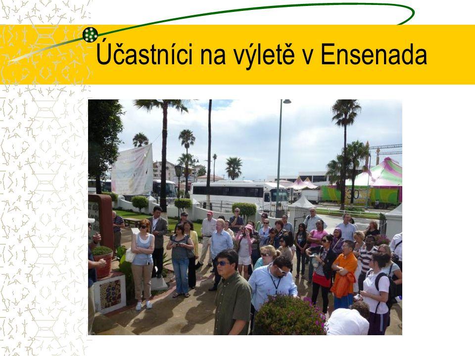 Účastníci na výletě v Ensenada