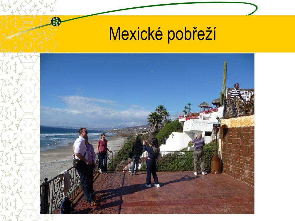 Mexické pobřeží