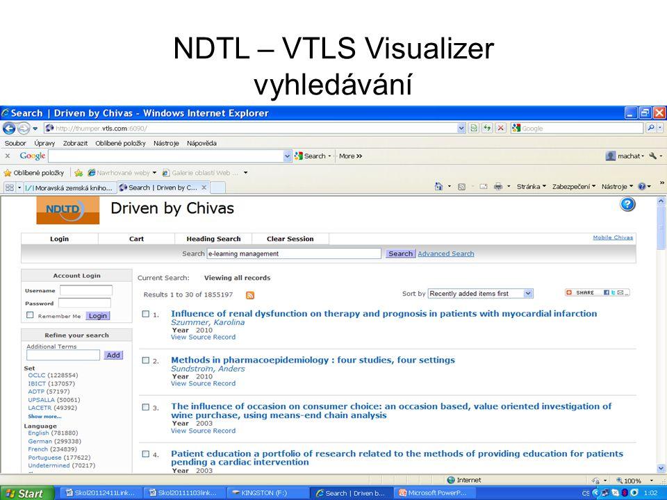 NDTL - výsledky