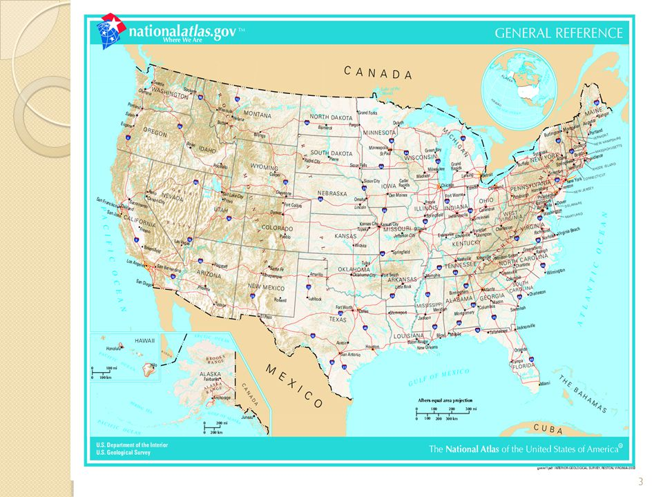 The USA are situated in southern part of North America.