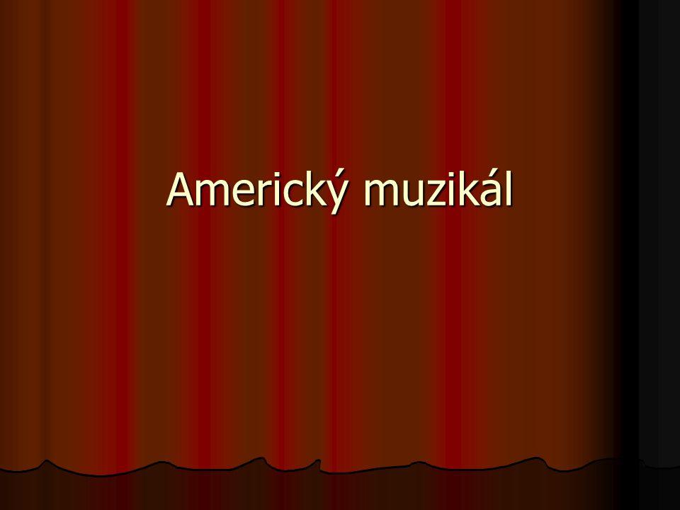Americký muzikál