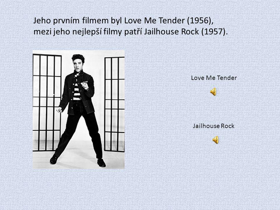 Jeho prvním filmem byl Love Me Tender (1956), mezi jeho nejlepší filmy patří Jailhouse Rock (1957). Love Me Tender Jailhouse Rock