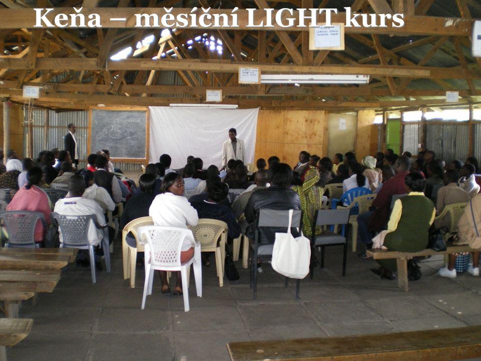 Keňa – měsíční LIGHT kurs