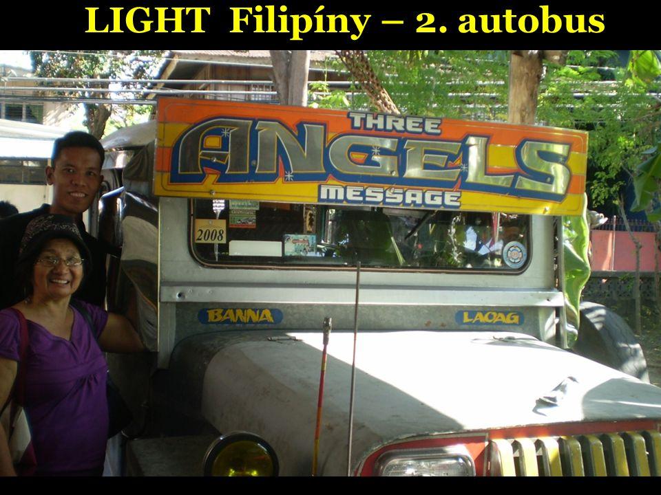 LIGHT Filipíny – 2. autobus