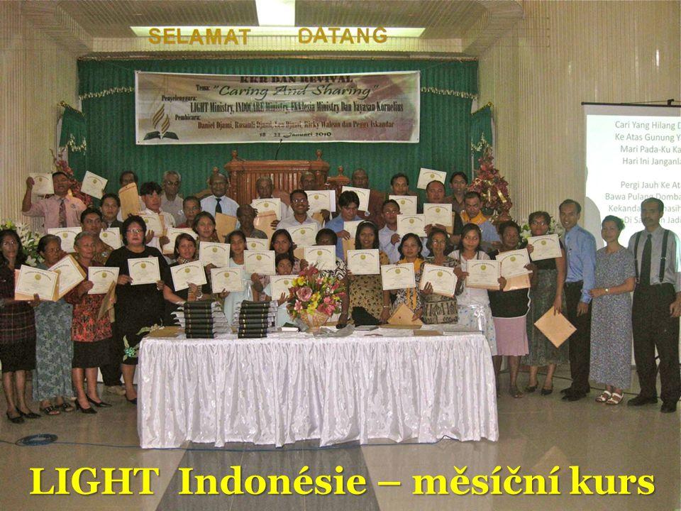 LIGHT Indonésie – měsíční kurs