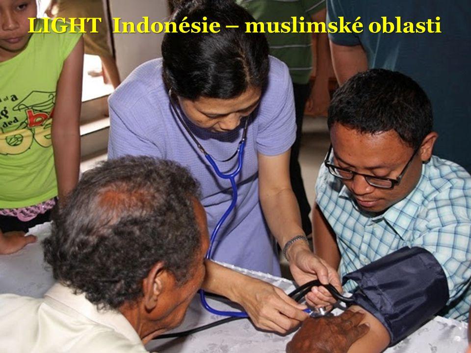 LIGHT Indonésie – muslimské oblasti