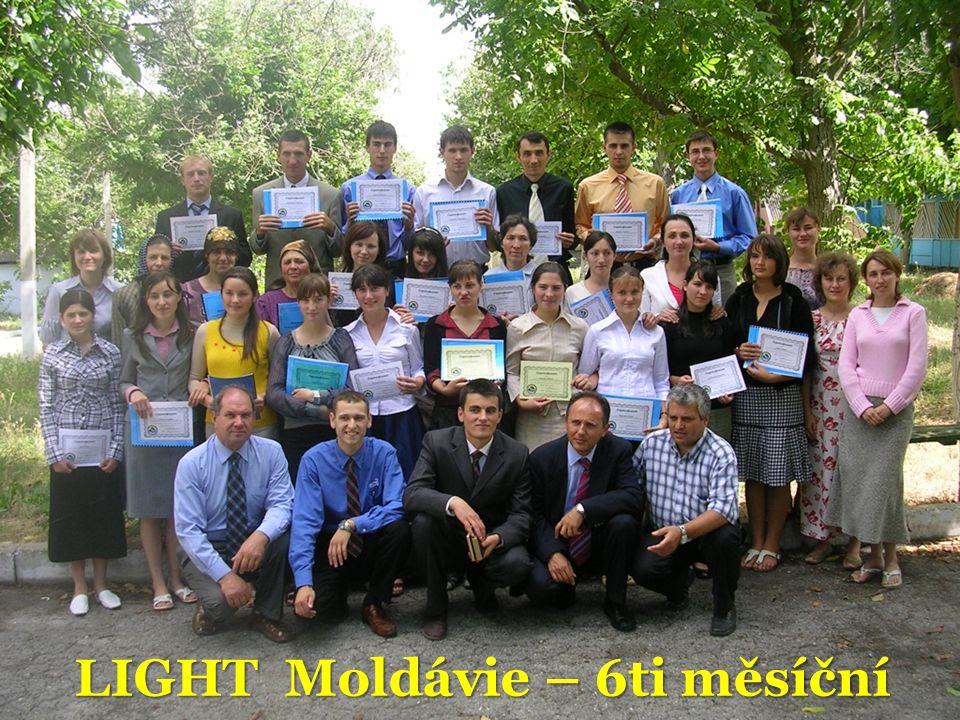 LIGHT Moldávie – 6ti měsíční
