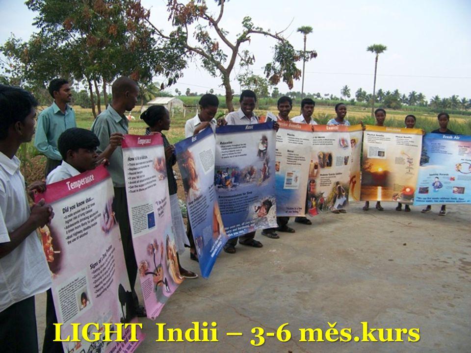 LIGHT Indii – 3-6 měs.kurs