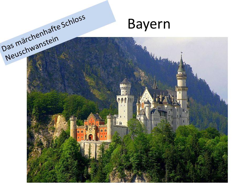 Bayern Das märchenhafte Schloss Neuschwanstein