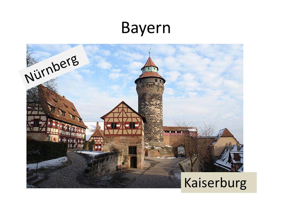 Bayern Kaiserburg Nürnberg