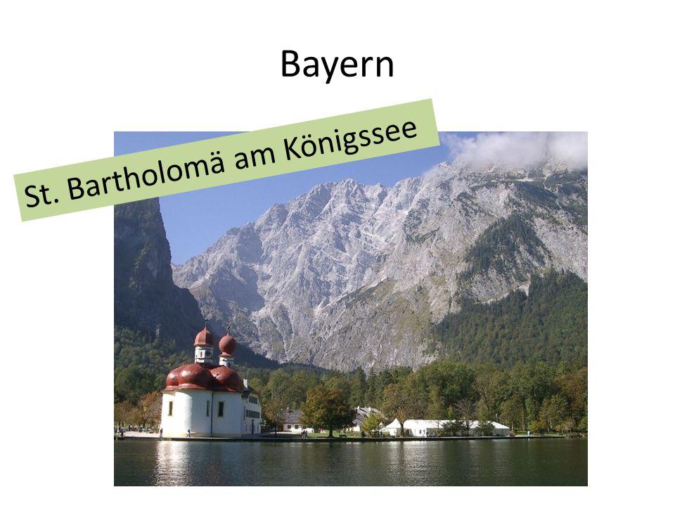 Bayern St. Bartholomä am Königssee