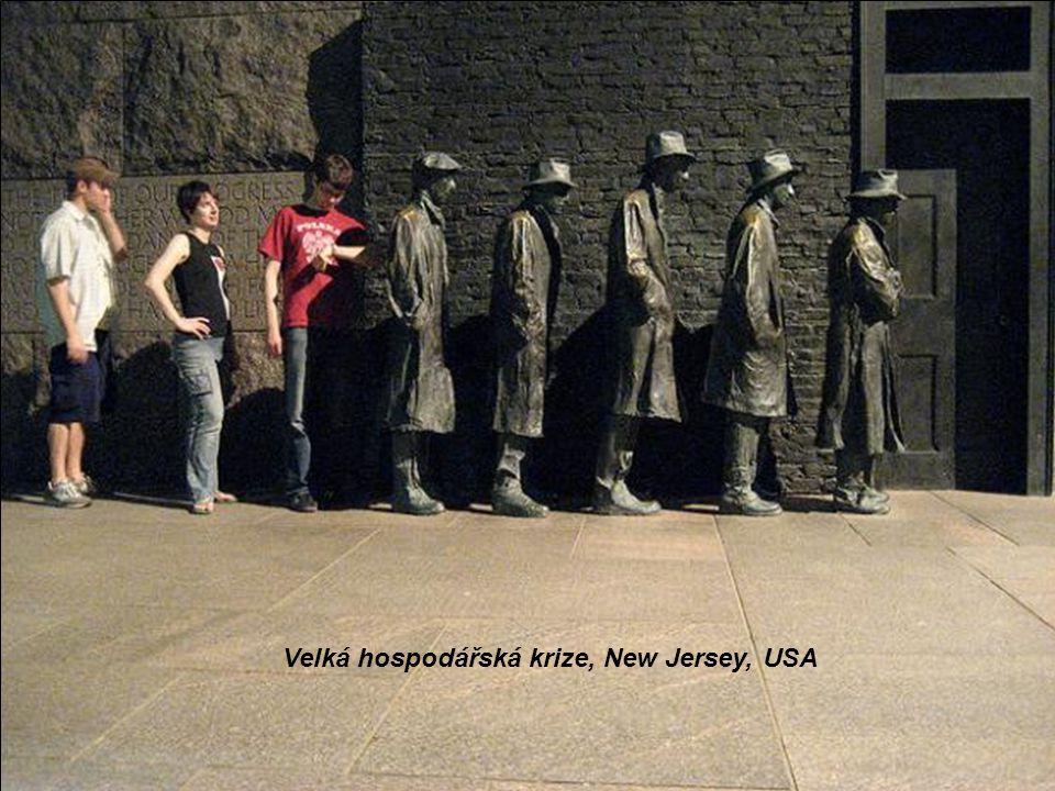 Velká hospodářská krize, New Jersey, USA