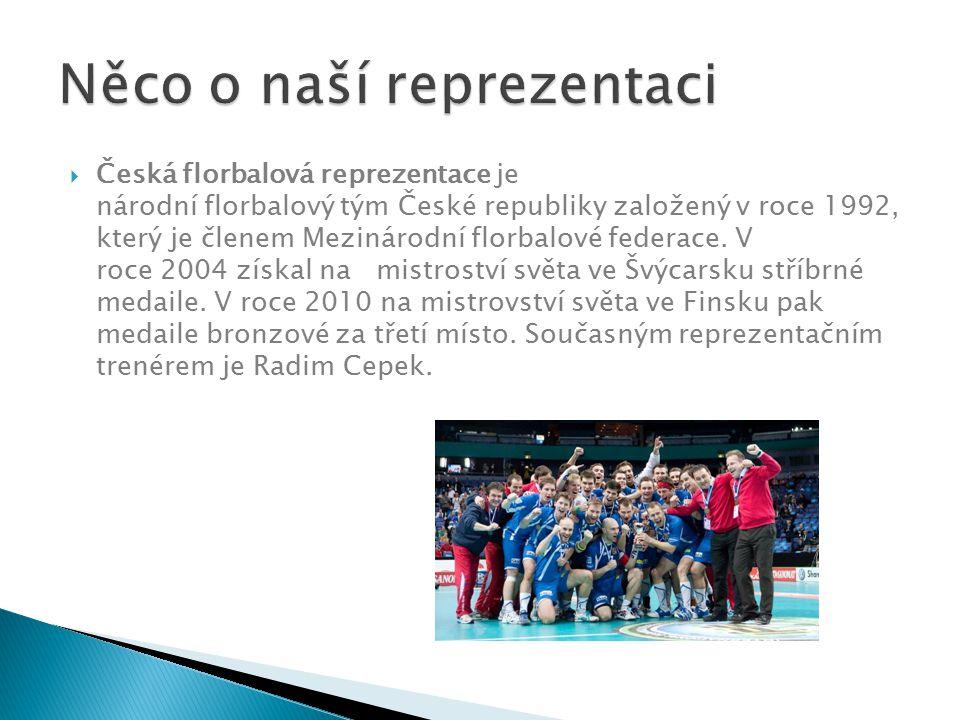  Česká florbalová reprezentace je národní florbalový tým České republiky založený v roce 1992, který je členem Mezinárodní florbalové federace. V roc