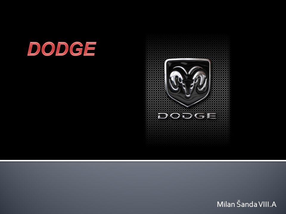  Dodge byl založen roku 1900 jako Dodge Brothers Company.