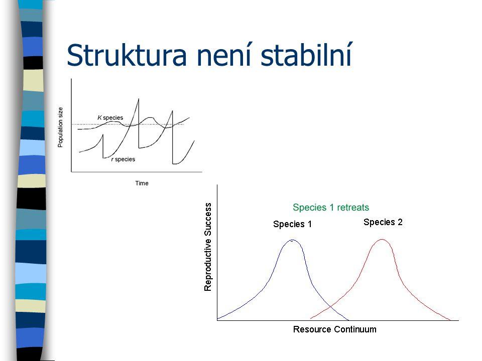 Struktura není stabilní