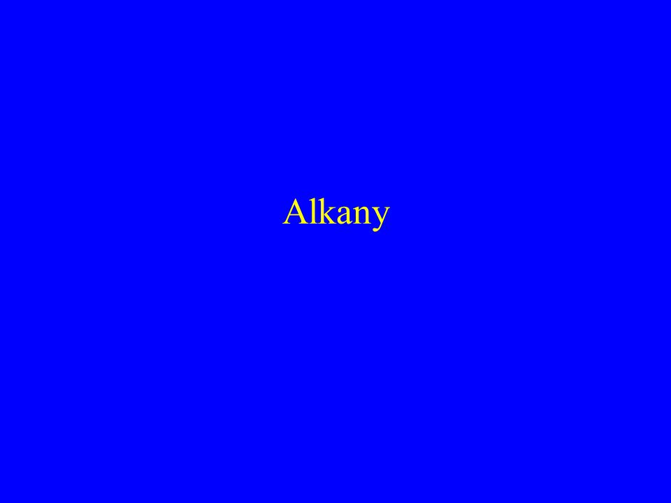 Alkany