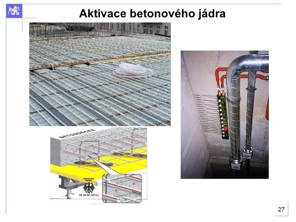 27 Aktivace betonového jádra
