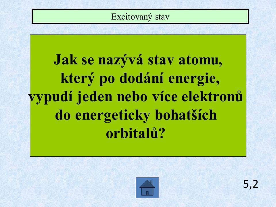 5,1 Jaký má vzorec oxoniový kation? H3O+H3O+