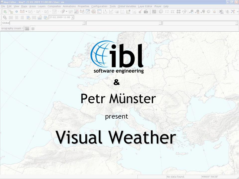 Introduction Visual Weather - software pro zobrazování především meteorologických dat v grafické i textové podobě.