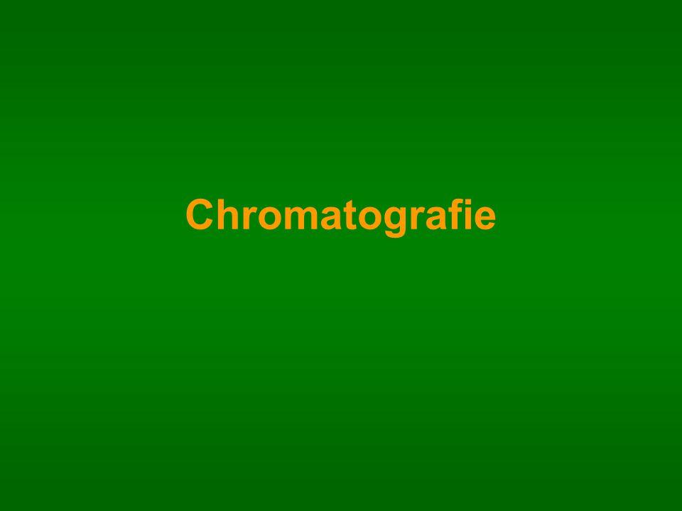 a)Podle skupenství mobilní fáze: kapalinová (LC, HPLC) plynová (GC) b)Podle uspořádání stacionární fáze: kolonová chromatografie plošné techniky (otevřené systémy) – papírová PC a tenkovrstvá TLC, HPTLC