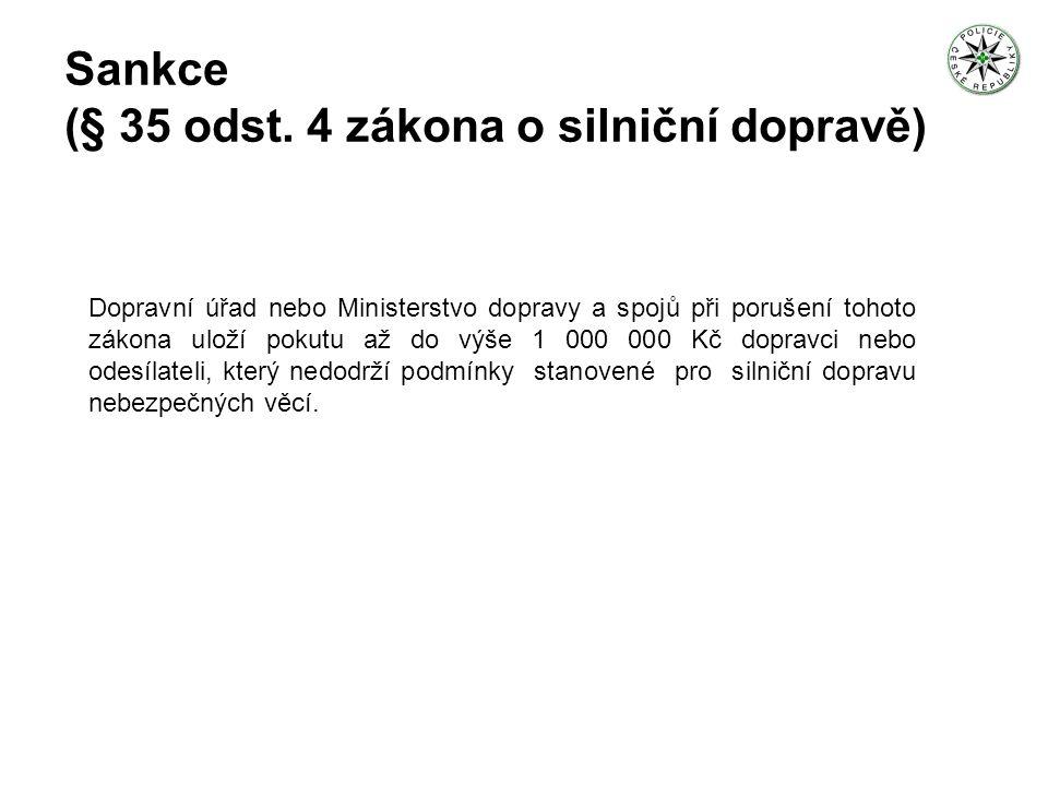 Počet kontrol provedených Policií ČR za rok 2006