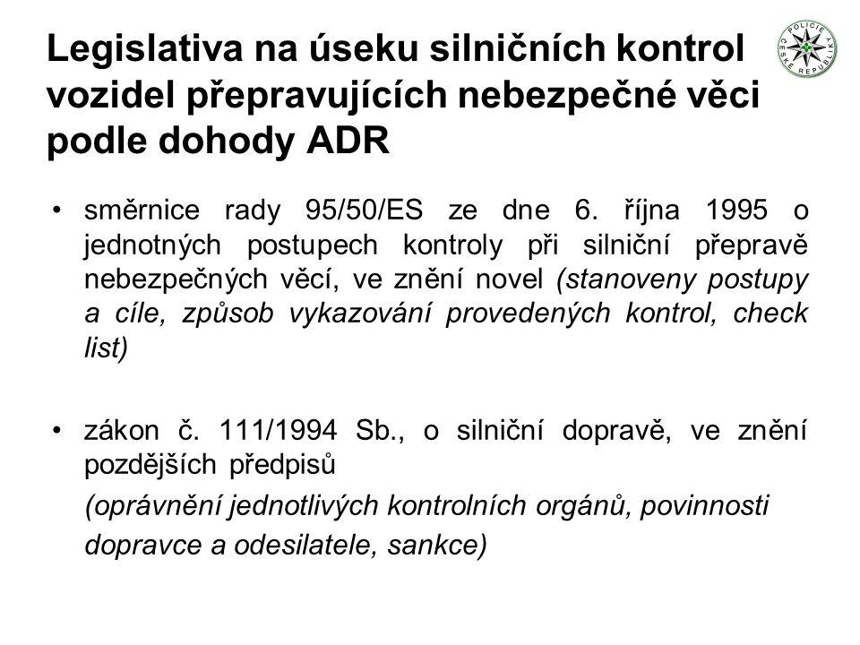 Oprávnění a povinnosti PČR při kontrole § 37 odst.