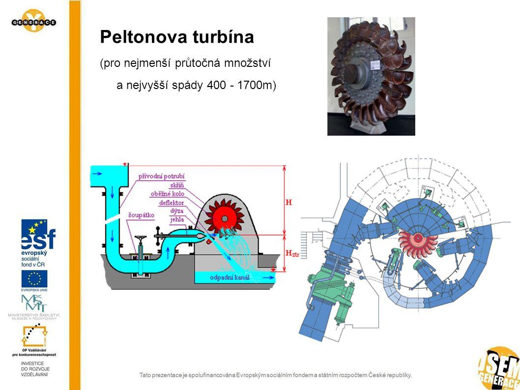 Přečerpávací elektrárny Elektrárny s umělou nebo smíšenou akumulací 4 strojové uspořádání (turbína, alternátor, čerpadlo, motor) 3 strojové uspořádání (alternátor pracuje i jako motor) 2 strojové uspořádání (reverzní turbína pracuje i jako čerpadlo)