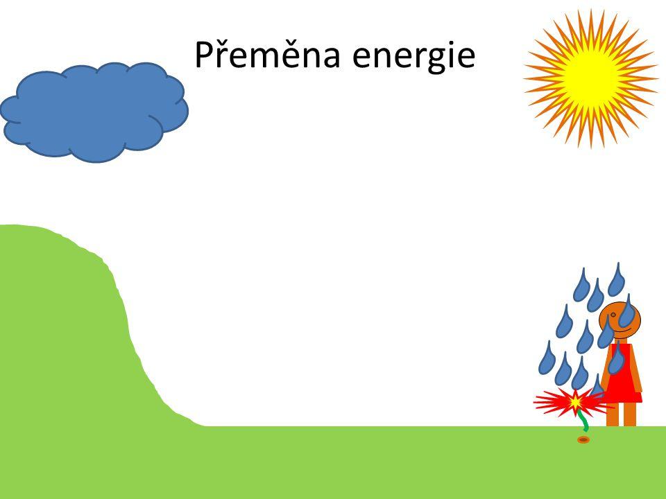 Přeměna energie