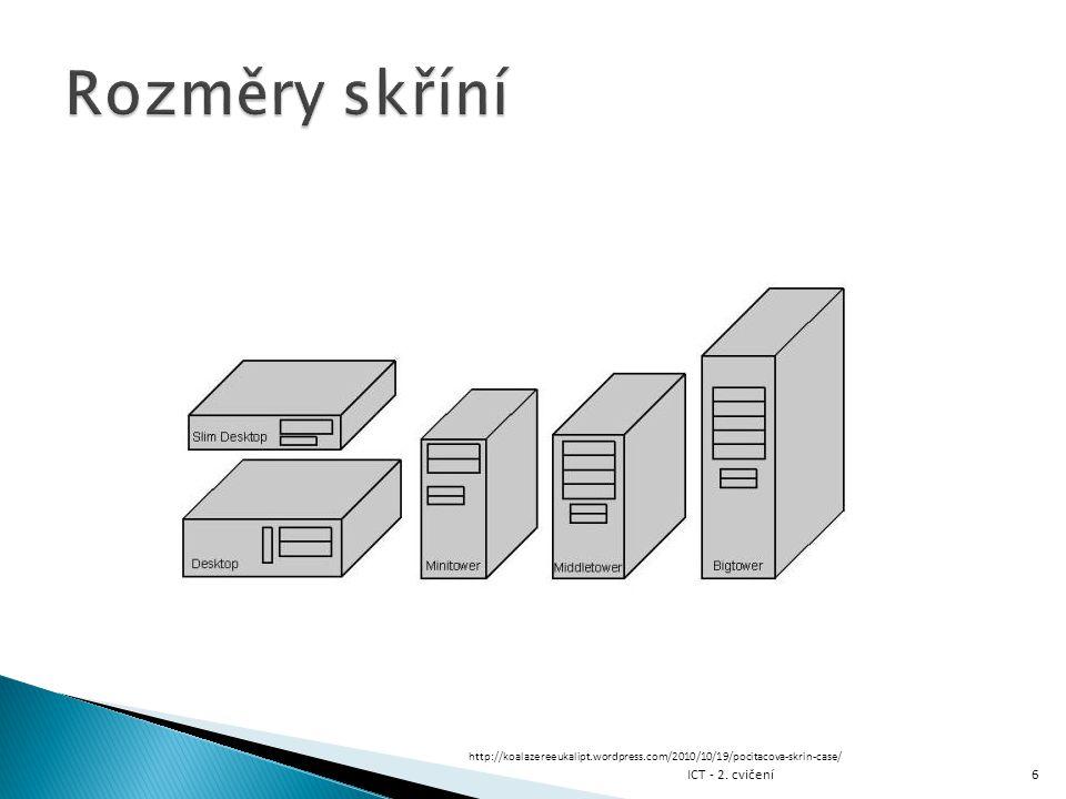  Výhody HDD ◦ Kapacita ◦ Spolehlivost ◦ Neomezený počet přepsání  Nevýhody HDD ◦ Spotřeba ◦ Nízká rychlost čtení a zápisu ◦ Hluk ◦ Odpadní teplo ◦ Pomalé vybavení informace 17 Pro SSD platí opak ICT - 2.