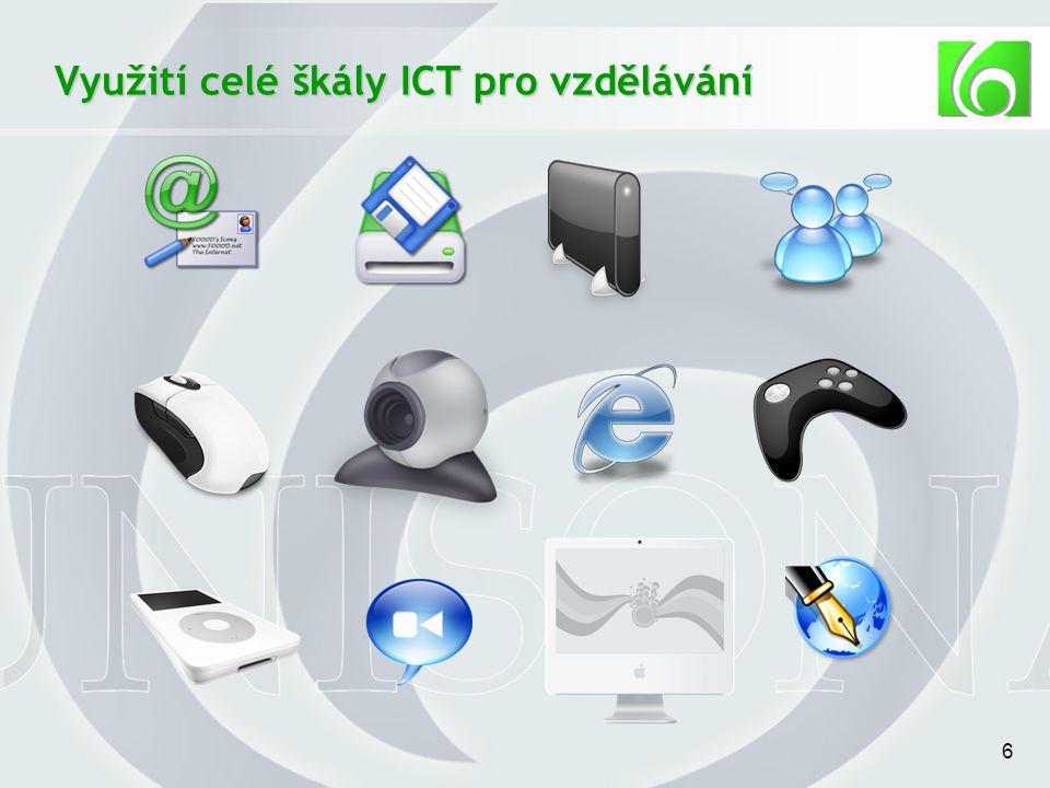6 Využití celé škály ICT pro vzdělávání