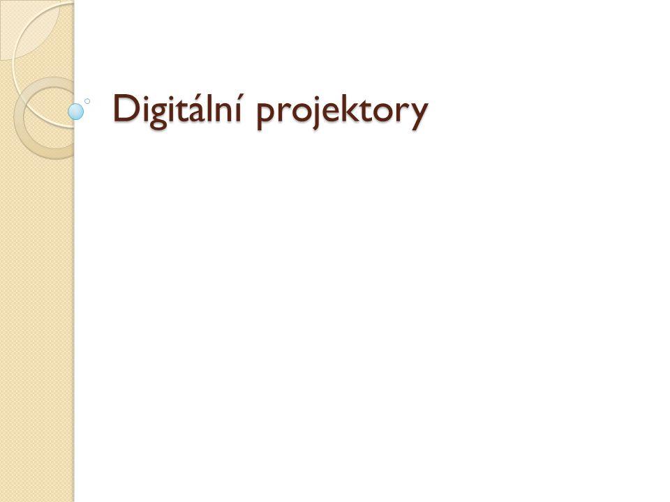 Digitální projektory