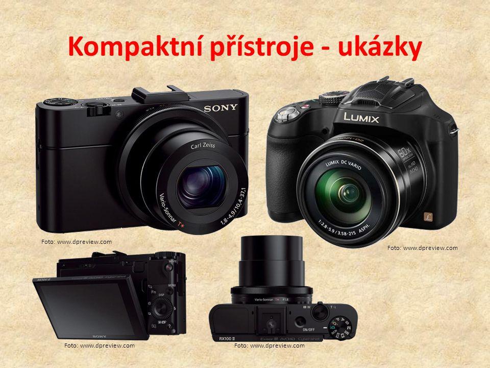 Kompaktní přístroje - ukázky Foto: www.dpreview.com