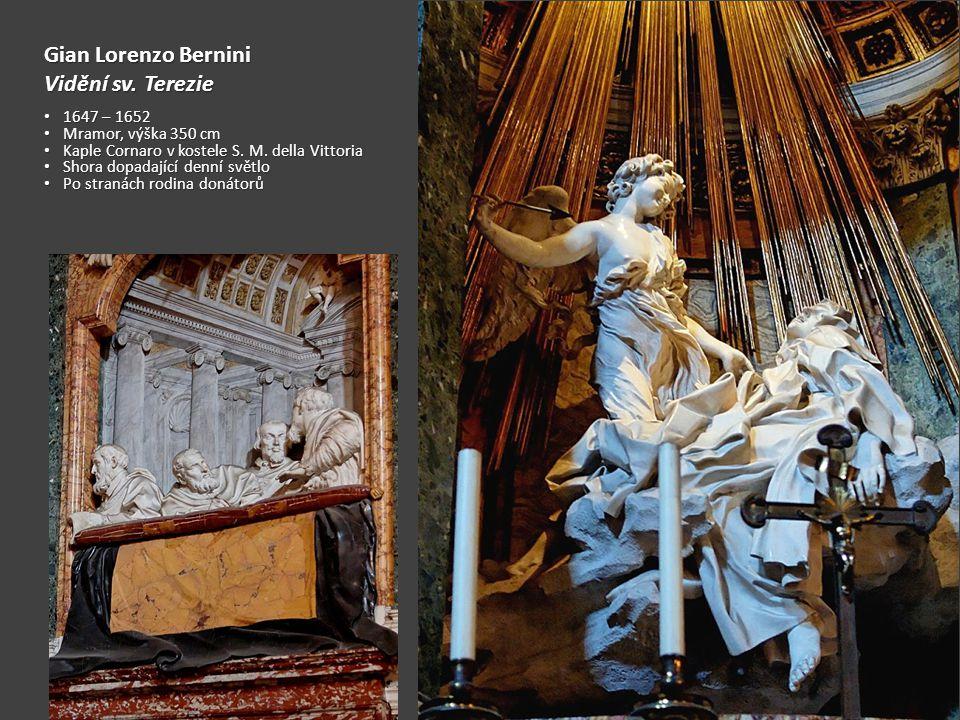 Gian Lorenzo Bernini Vidění sv.