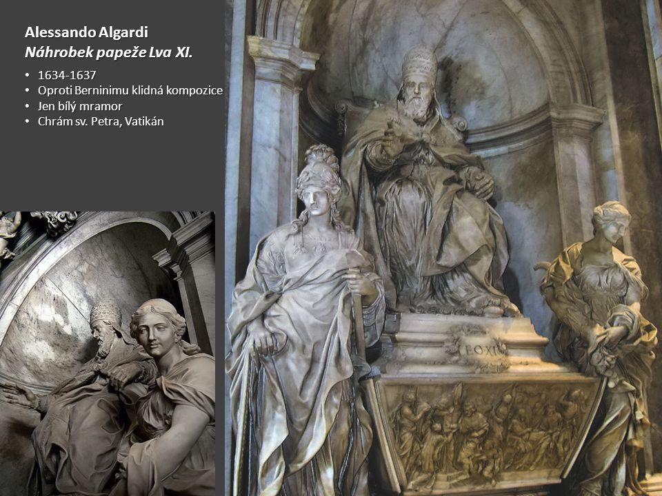Alessando Algardi Náhrobek papeže Lva XI.