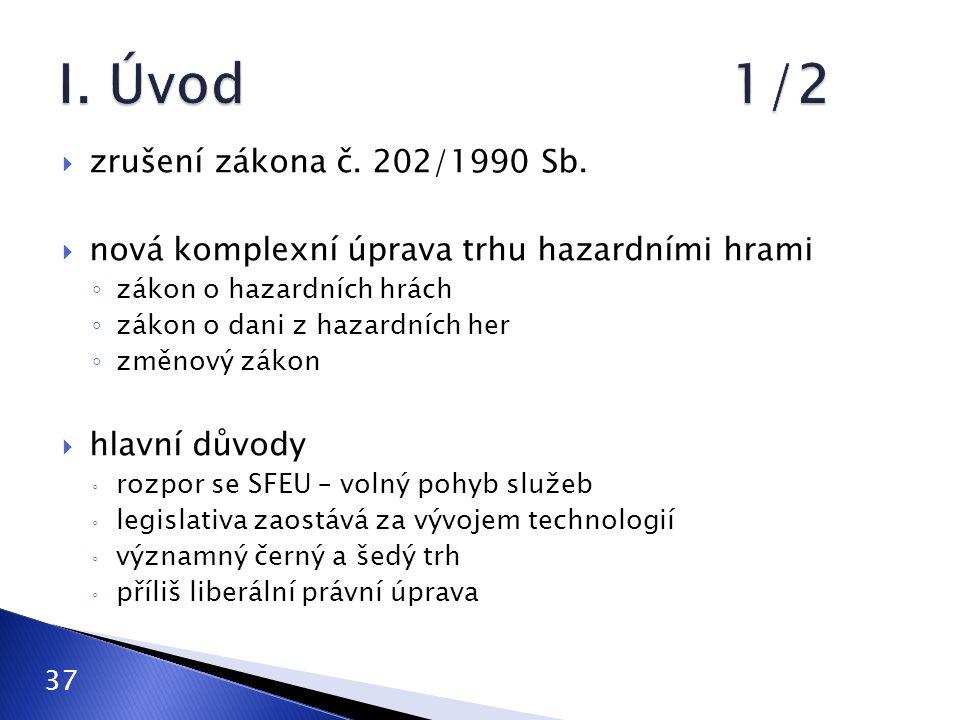  zrušení zákona č.202/1990 Sb.