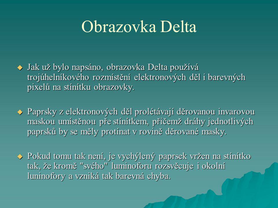 Obrazovka Delta