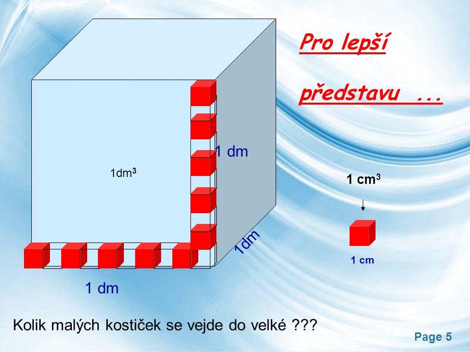 Page 6 Převody jednotek a) metrické 1000 b) duté (litr) (metr krychlový) (decimetr krychlový) (centimetr krychlový) (hektolitr)(mililitr) 1000100