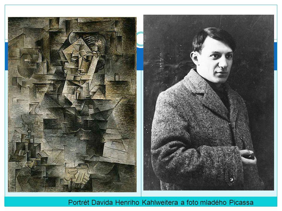 Portrét Davida Henriho Kahlweitera a foto mladého Picassa