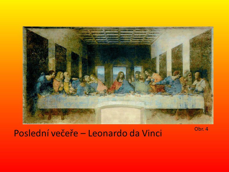 Poslední večeře – Leonardo da Vinci Obr. 4
