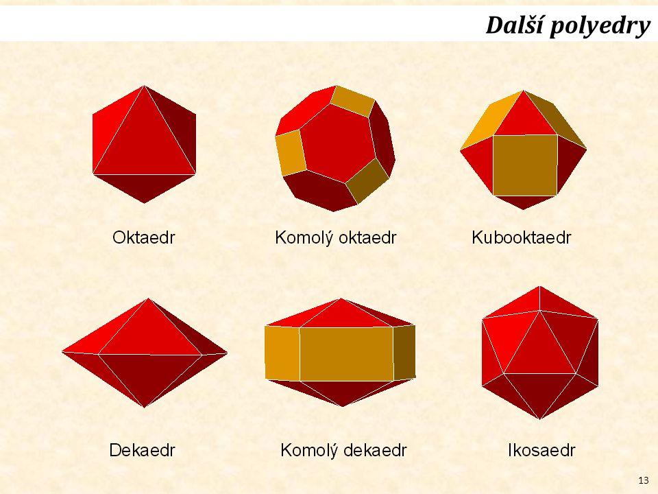 13 Další polyedry