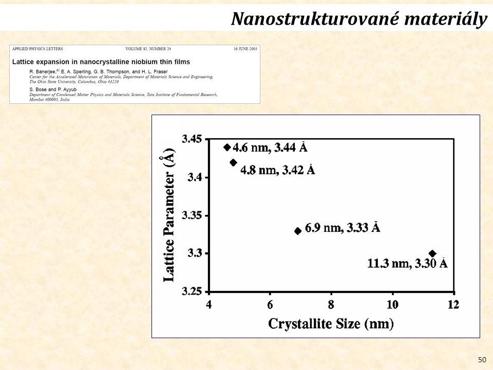 50 Nanostrukturované materiály