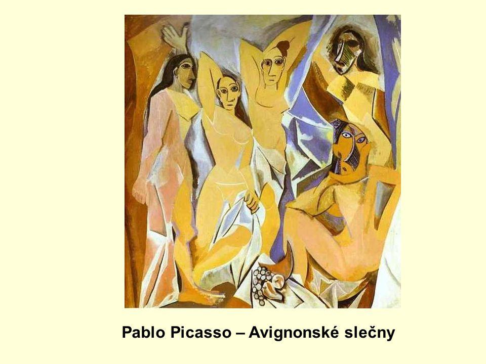 Pablo Picasso – Avignonské slečny