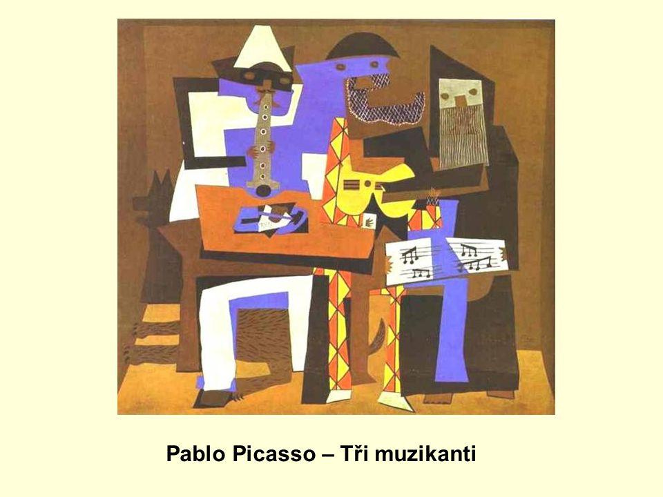 Pablo Picasso – Tři muzikanti