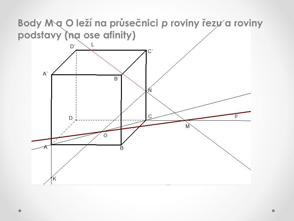 Průsečnice rovnoběžných rovin s rovinou jsou rovnoběžné