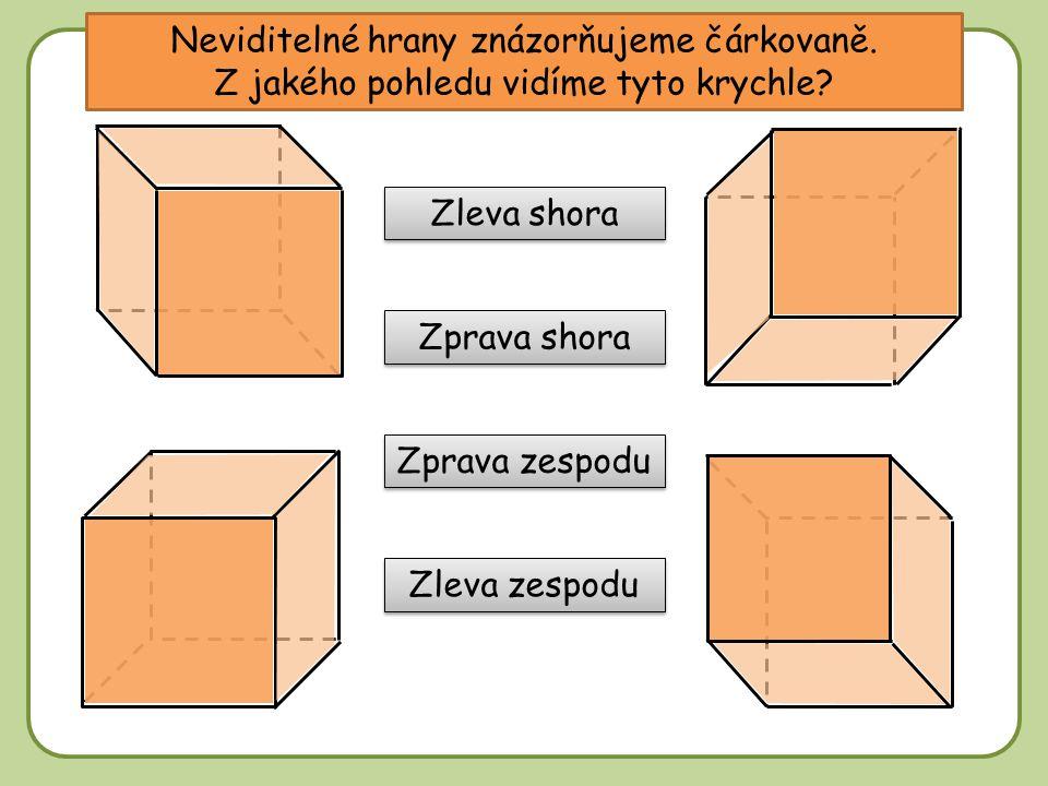 Stěnová a tělesová úhlopříčka BG je stěnová úhlopříčka – její krajní body leží v jedné stěně.