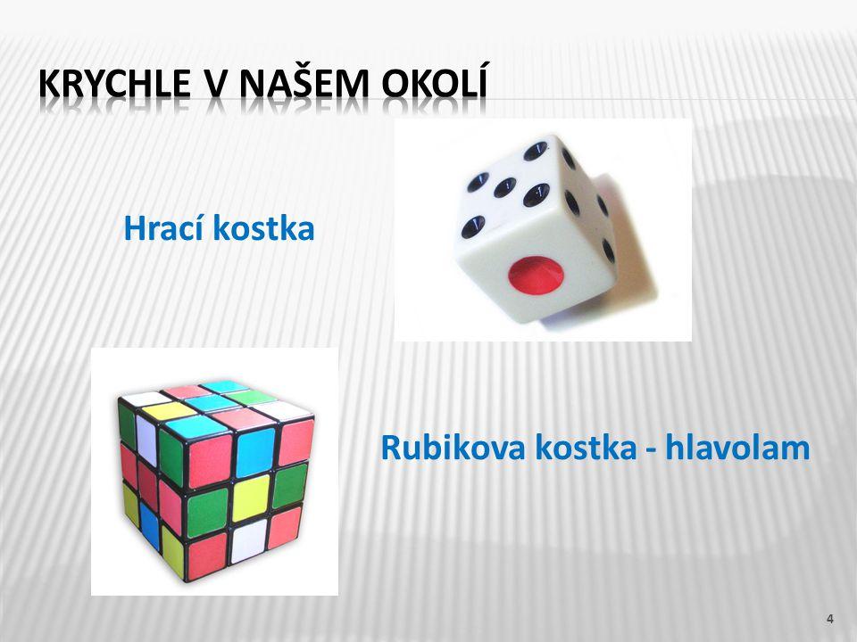 Hrací kostka Rubikova kostka - hlavolam 4